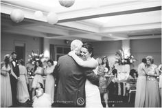 Bride and Father Wedding Dance || Black and White || Reception || Christen Jones Photography