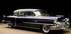 ♛1956 Cadillac Fleetwood Series Seventy-Five Limousine♛ #classiccars1956cadillac
