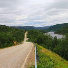 From Utsjoki to Karigasniemi. Finland From #minnakaan