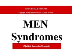 For Medical students only- MEN syndrome-1 - YouTube