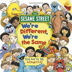 We're Different, We're the Same (Sesame Street) (Pictureback(R)): Bobbi Kates, Joe Mathieu.