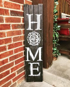 Use a baseball for the 'O'You can find Firefighter decor and more on our website.Use a baseball for the 'O' Firefighter Home Decor, Firefighter Family, Firefighters Wife, Firemen, Volunteer Firefighter, Firefighter Quotes, Home Crafts, Diy Home Decor, Diy Crafts