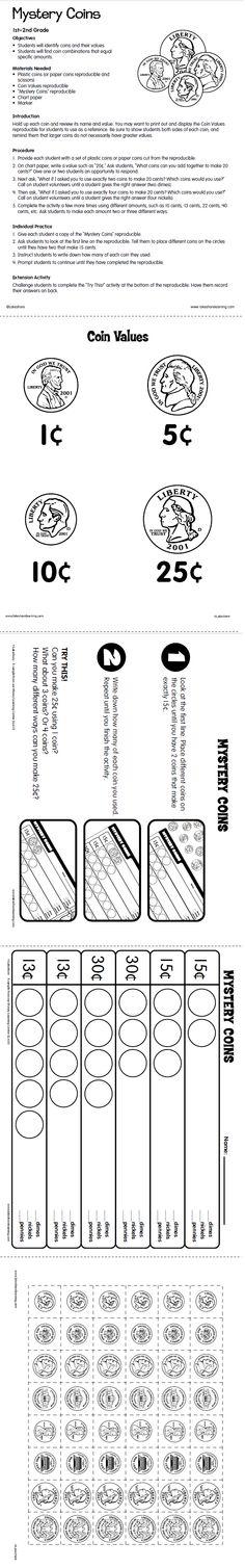 monedas on pinterest money worksheets coins and money activities. Black Bedroom Furniture Sets. Home Design Ideas