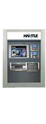 """Mini-Bank 4000T Through the Wall ATM  1700 note removable cassette – Rear Load  10.4"""" Sun Viewable Color Screen  Electronic Lock  Includes Shipping  Price:$5,145.00  www.uscashatms.com/hantle-t4000"""