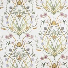 The Chateau Potagerie Cream 10 Meter Rolls of Wallpaper was originally created by Angel Strawbridge for the walls of her own Chateau. Next Wallpaper, Wallpaper Roll, Hallway Wallpaper, Paper Wallpaper, Angel Adoree, Angel Strawbridge, Stunning Wallpapers, Beautiful Wallpaper, High Quality Wallpapers