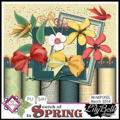 MAR14Minipixel-IN SEARCH OF SPRING by LilyBelle Designs