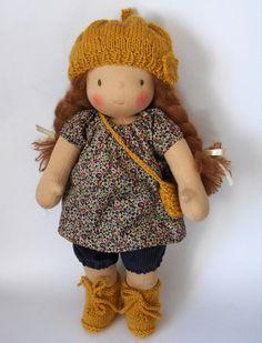 Waldorf doll Julie 16 by ruedubonheur on Etsy, $165.00