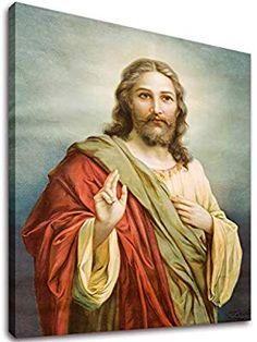 Vintage//Painting//Poster//Jesus in the Garden of Gethsemane//Religious//16x20 inch