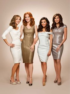 Desperate Housewives. I will miss them.