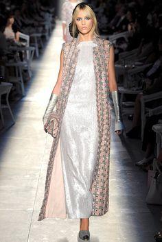 Chanel Fall 2012 Couture Fashion Show - Anja Rubik