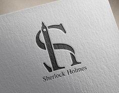 Branding // Sherlock Holmes on Behance Sherlock Holmes Tattoo, Sherlock Holmes Funny, Sherlock Holmes Costume, Sherlock Holmes Robert Downey, Sherlock Holmes Benedict, Initials Logo, Monogram Logo, Big Ben, Typography Logo
