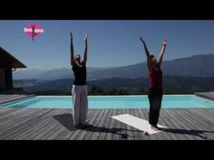 YOGAMOUR #16 - Yoga für zu Hause: Sonnengruss für Fortgeschrittene - YouTube