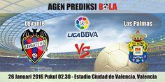 Prediksi Bola Levante vs Las Palmas 26 Januari 2016