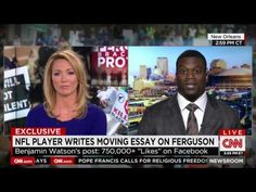 Sorry, if I were running the CNN control room during this interview, I would have done the exact same thing... - VIDEO - http://holesinthefoam.us/cnn-cuts-off-nfl-player-when-he-talks-christianity-and-ferguson-video/