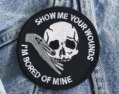 Cute Patches, Pin And Patches, Battle Jacket, Morale Patch, Punk, Embroidery Patches, Cute Pins, Pin Badges, Piercings