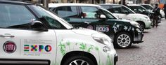 Le nuove Fiat 500L approdano a Milano per l'Expo Milano 2015!  Read more: http://6e20.it/it/blog/le-500l-approdano-milano.html