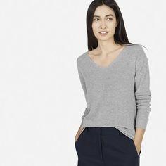 The Cotton Sweater V-Neck - Everlane