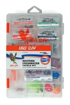 Eagle Claw E.C. Western Fresh Water Tackle Kit,98 Piece Eagle Claw http://www.amazon.com/dp/B008MGCL0G/ref=cm_sw_r_pi_dp_-p6vvb106G1CX
