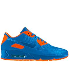 Nike Air Max 90 HYP Premium iD Men's Shoe. Custom Made with NikeiD. Go Gators!