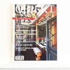 Now stocking #design & #interiors mag OBJEKT International. @objektinternational #objekt #interiordesign #urbanspace #art #architecture