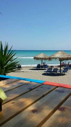 Wonderful beach, Rhodes, Greece