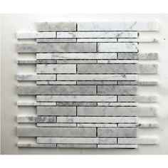 Create a spa atmosphere in your bathroom or kitchen with these cloudy white stone mosaic tiles.  Model vp1004bs Regular $9.9/Square feet Sale $5.9/Square feet