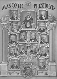 Masonic US Presidents