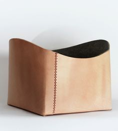 Large Leather Basket | Home Decor & Lighting | Scarr | Scoutmob Shoppe