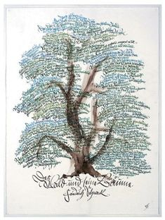 Journaling as branches/leaves