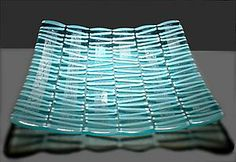 Glass Platter - trying to figure this one out.  I would love to make something similar to this platter
