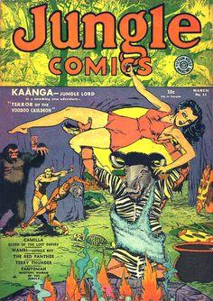 dan zolnerowich | jungle comics 12....weird