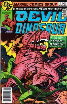 Devil Dinosaur 8 - Stan Lee and Jack Kirby