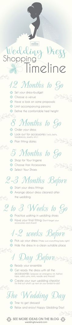 12 Wedding Dress Infographics To Make Your Shopping Easier ❤️ The most useful wedding dress infographics that will help you to make the right choice. See more: http://www.weddingforward.com/wedding-dress-infographics/ #wedding #dresses #infographics