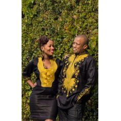 african outfits for couples - Google Search