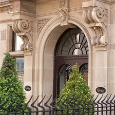 Edinburgh Exterior 2 by Malmaison Hotels & Brasseries, via Flickr Factory Architecture, India Architecture, Neoclassical Architecture, Architecture Details, Gate Wall Design, House Gate Design, Facade Design, Exterior Design, Building Front