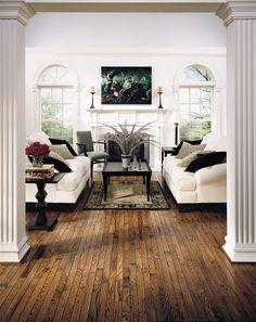 such warm oak honey floors