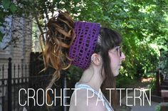 Wavy Dreadlock Headband Crochet Pattern by Of mars  https://www.etsy.com/listing/202781628/crochet-pattern-wavy-headband?ref=shop_home_active_2