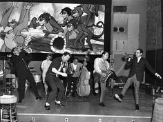 """Behind the Scenes During Production of The Jungle Book 