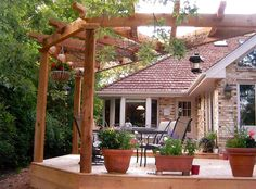 Custom Cedar Deck and Pergola