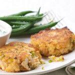 Chobani Yogurt - Spicy Salmon Cornmeal Cakes. their website has tons of yummy, healthy recipes!