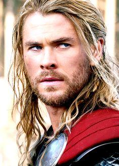 Chris Hemsworth as my favorite superhero Thor. <3
