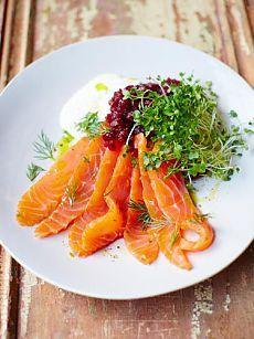 Маринованный лосось - супер быстро! | Рецепты Джейми Оливера