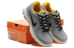 innovative design c684f 9e9b0 Cheap Nike Air Relentless Men s Running Shoes Wolf Grey Black-Yellow RS-009