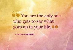 Advice from Iyanla