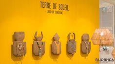 LAND OF SUNHINE display on the Fashion Trends area #Bijorhca Paris – Jan. 2016
