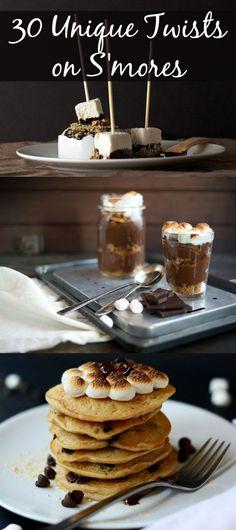 S'mores pancakes, anyone? #recipes