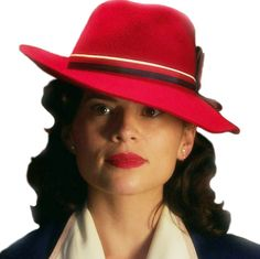 Agent Carter. I want to add that Pinterest picked this image for me. It knows what I want.