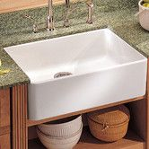 """Found it at Wayfair - Manor House 19.69"""" x 15.75"""" Fireclay Apron Front Kitchen Sink"""