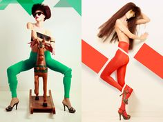 Color Blocking on Behance