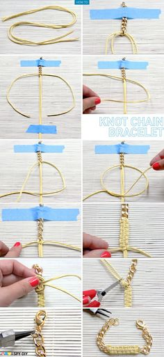 knot chain bracelet